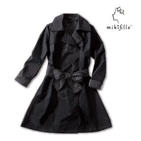 写真:mikifille 白川みきのはっ水加工スプリングコート
