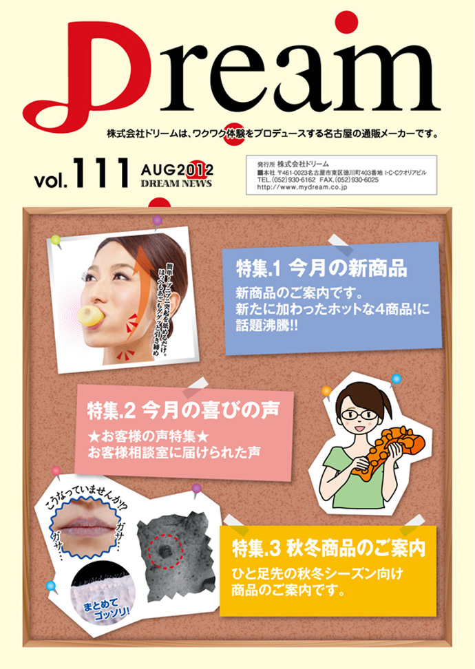 DREAM NEWS vol.111