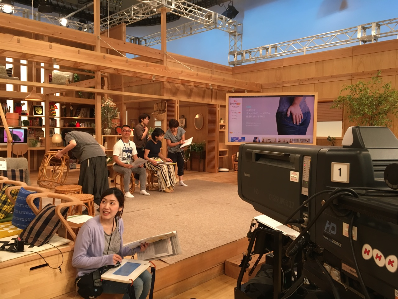 写真:NHK「ごごナマ」 7/18(水)14:02~放送