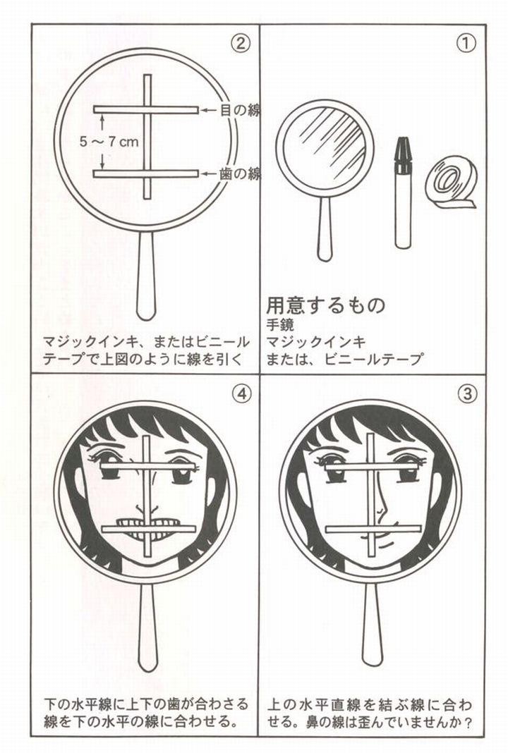 歯の噛み合わせチェック法2