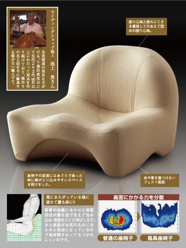 写真:【販売終了】馬具座椅子