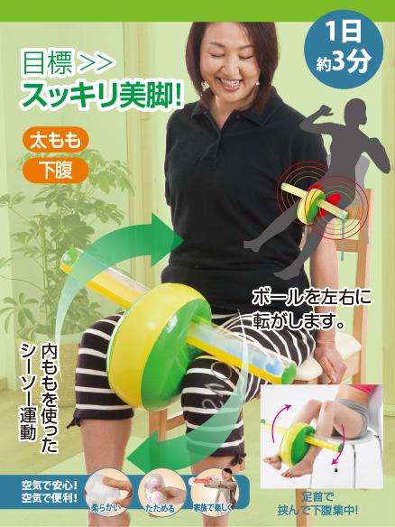 写真:【販売終了】エアエクサ エアシーソー