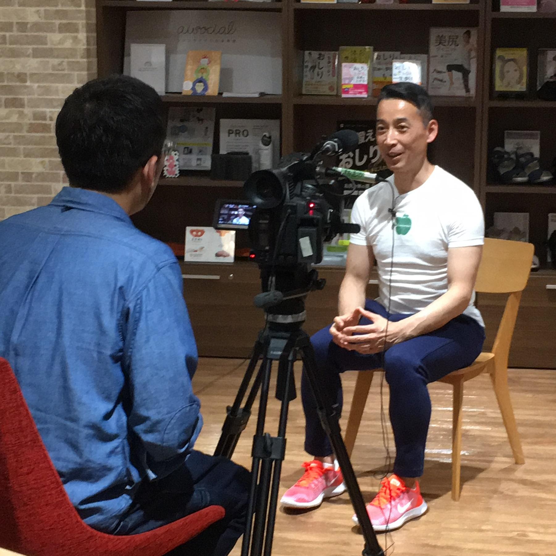 写真:テレビ静岡「てっぺん!」